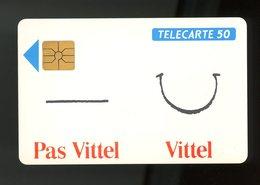 FRANCE -  PAS VITTEL VITTEL - 50 U - - France