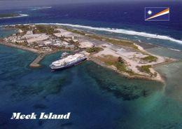 1 AK Marshallinseln * Blick Auf Meck Island - Die Insel Ist Teil Des Kwajalein Atolls - Eine Raketen-Teststation Der USA - Marshall