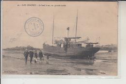 """50  -  ILES CHAUSEY -  Le  """" SUND """" à Sec, En Grande Marée - Francia"""