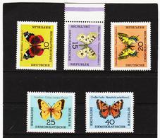 YZO743 DDR 1964 MICHL 1004/08 ** Postfrisch ZÄHNUNG SIEHE ABBILDUNG - DDR