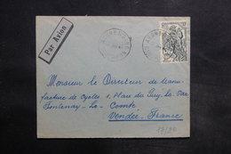 CAMEROUN - Enveloppe De Abong-M'Bang Pour La France En 1961, Affranchissement Plaisant - L 35557 - Kamerun (1960-...)
