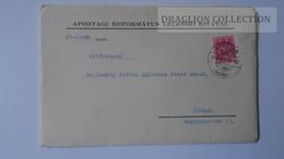 ZA216.6  Hungary Cover -APOSTAG R.L.H.  1940  To Dr.Csekey István Prof. SZEGED Genealogy Correspondence -Documents - Lettere