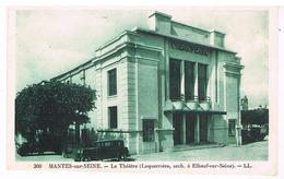 Mantes-sur-Seine - Le Théâtre - Mantes La Ville