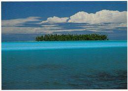 1 AK Atoll Bora Bora Mit Einem Vorgelagerten Motu * Französisch Polynesien - French Polynesia * - Französisch-Polynesien