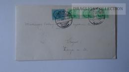 ZA216.8  Hungary Cover -Kardos József Lekész Gödöllő  To Dr.Csekey István Prof. SZEGED Genealogy Correspondence - Lettere