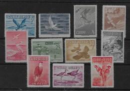 Serie De Cuba Nº Yvert A-135/45 * - Airmail