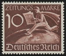 739Z Zeitungsmarke 10 Pf ** - Germania