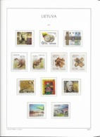2015 MNH Lituania Year Collection Postfris** - Litauen