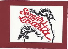 CORSE CORSICA AFFISU  OU AFFICHE POLITIQUE OERA DE BALTA 1984 - Unclassified
