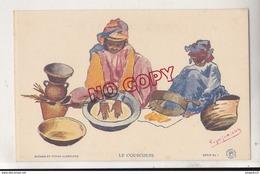 Au Plus Rapide Algérie Illustrateur Roger Jariera Le Couscous - Algérie