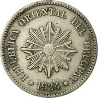 Monnaie, Uruguay, 2 Centesimos, 1924, Uruguay Mint, Poissy, France, TTB - Uruguay