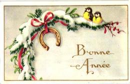 "MIGNONNETTE ""BONNE ANNEE"" OISEAUX ,FER A CHEVAL REF 60418 - New Year"