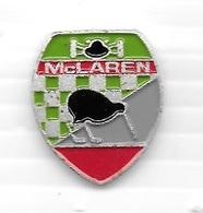 Pin's  Sport  Automobile  F 1  Sigle  écurie  Mc  LAREN - F1