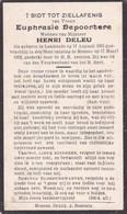 Lendelede, Menen, 1932, Eupfrasie Depoortere, Deleu - Andachtsbilder