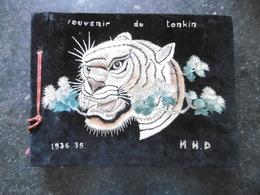 19F - Rare Album Photo Militaires Français Colonie Au Tonkin Cộng Hoà Xã Hội Chủ Nghĩa Việt Na 3 R Tirailleur Tonkinois - Albums & Collections