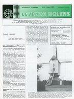 Thema: Molen / Maalderij Vlaanderen - Nummer Van LEVENDE MOLENS D.d. Maart 1991. Tessenderlo, Tielen, Gierle E.a. - Tijdschriften