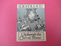 "Programme/Théatre Du CHATELET/Maurice Lehmann/""L'Auberge Du Cheval Blanc ""/Muller,Charell/Barney,Jan/ Vers 1948  PROG236 - Programs"