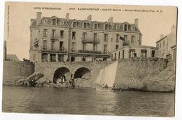 CPA 35 SAINT SERVAN Grand Hotel Belle  Vue  ( à Arthur Léon  De Montfleury 1904) - Saint Servan
