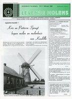 Thema: Molen, Maalderij Vlaanderen - Nummer Van LEVENDE MOLENS Februari 1991. Kaulille, Hofstade Bij Aalst, Hoboken E.a. - Revues & Journaux
