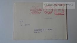ZA217.6 Hungary- EMA -  METER STAMP -  FREISTEMPEL  -  60 Filler 1969 -Meghívó Invitation - Ungheria