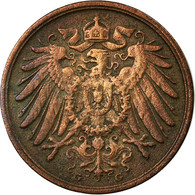 Monnaie, GERMANY - EMPIRE, Wilhelm II, 2 Pfennig, 1912, Karlsruhe, TB+, Cuivre - [ 2] 1871-1918 : German Empire