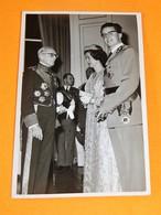 FAMILLE ROYALE BELGIQUE -  Roi Baudouin Et La Reine Fabiola - Familles Royales