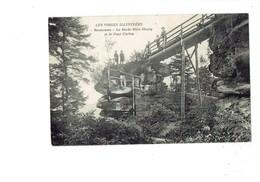 Cpa - 88 - SENONES - La Roche Mère-Henry Et Le Pont Corbin - N° 9 - Les Vosges Illustrées - Animation - Senones
