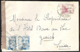 SPAIN Letter 1941 MADRID Correo Central To ZURICH (Switserland) With Spanish Censure - 1931-50 Cartas