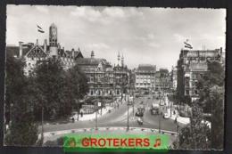 AMSTERDAM Leidscheplein Zeer Levendig 1956 - Amsterdam