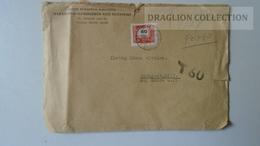 ZA217.14  Hungary Cover - MSZP  PORTO Postage Due 1963  T/60 - Ungheria