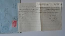ZA217.15 Hungary Cover -VÁL R.K.Plébánia 1939  To Dr.Csekey István Prof. SZEGED Genealogy Correspondence - Lettere
