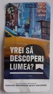 ROMANIA-CIGARETTES  CARD,NOT GOOD SHAPE,0.90 X 0.45 CM - Ohne Zuordnung