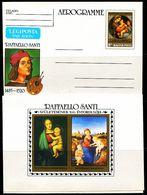 FP1550 Hungary 1983 Raphael's Virgin And Child  Aerogramme - Altri