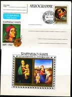 FP1551 Hungary 1983 Raphael's Virgin And Child  Aerogramme - Altri