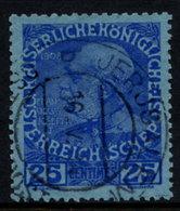 AUSTRIA PO IN CRETE ( Kreta ) 1914 25 C. Used, With Certificate.  Michel 24 - Levant Autrichien