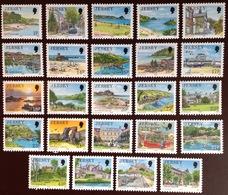 Jersey 1989-1995 Definitives To 75p MNH - Jersey