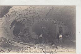 Gare De L'Opéra - Travaux Souterrains Du Chemin De Fer Métropolitain - Vignette - 1917     (A-99-170621) - Subway