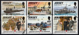Jersey SG. 700-706 Gestempelt (6556) - Jersey