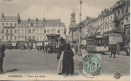 59 CAMBRAI  Place Au Bois - Cambrai