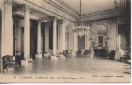 59 CAMBRAI  L'Hôtel De Ville - Le Salon Blanc - Cambrai