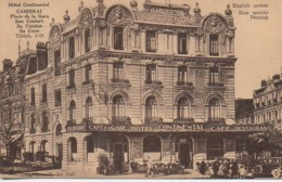 59 CAMBRAI Hôtel Continental Place De La Gare - Cambrai