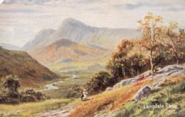 AL66 Langdale Pikes - Artist Signed R Gallon - Cumberland/ Westmorland