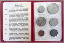 0072 - SERIE AUSTRALIE - 1970 Royal Australian Mint Coin Set UNC - Sets Sin Usar &  Sets De Prueba