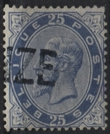 N°40 Annulation Griffe DEYNZE Partielle - 1883 Leopold II