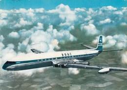 AEROPLANO-AIRPLANE-AVION-FLUGZEUG--=COMET 4=-COMPAGNIA B.O.A.C-CARTOLINA VERA FOTOGRAFIA- VIAGGIATA IL 13-1-1967 - 1946-....: Era Moderna