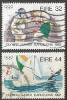 Ireland. 1992 Olympic Games, Barcelona. Used Complete Set. SG 834--5 - 1949-... Republic Of Ireland