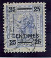 AUSTRIA PO IN CRETE ( Kreta) 1904 25 C. On 25 H. Used.  Michel 10A - Levant Autrichien