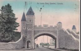 AO06 St. Louis Gate, Quebec, Canada - 1910's Postcard - Québec – Les Portes