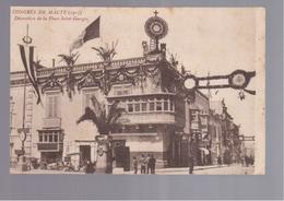 MALTA Congres (1913) OLD POSTCARD - Malta