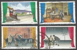 Ireland. 1990 Irish Theatre,  Used Complete Set. SG 785-768 - 1949-... Republic Of Ireland